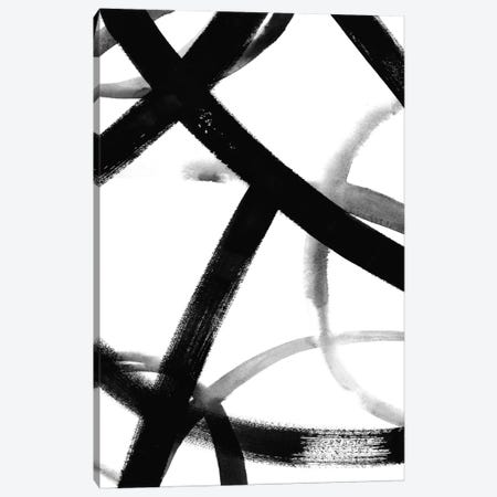 Monochrome Ripple II Canvas Print #POP240} by Grace Popp Canvas Artwork