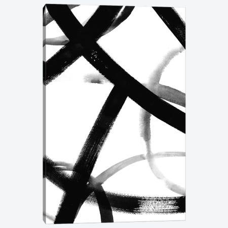 Monochrome Ripple II Canvas Print #POP240} by Grace Popp Canvas Artwork