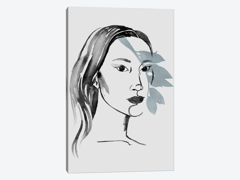 Solace in Shadows III by Grace Popp 1-piece Canvas Art Print
