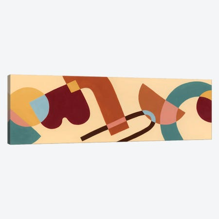 Sunset Tumble III Canvas Print #POP2422} by Grace Popp Canvas Print