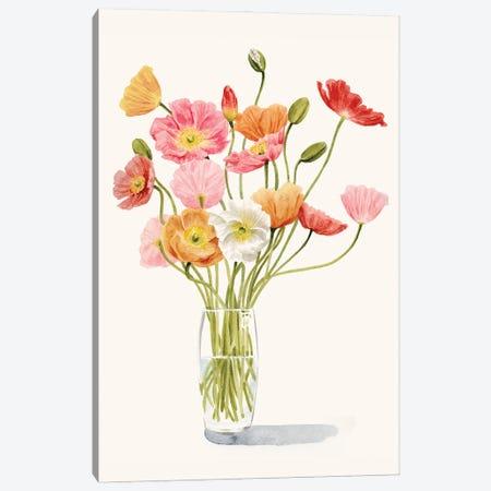 Wiry Poppies I Canvas Print #POP2435} by Grace Popp Art Print