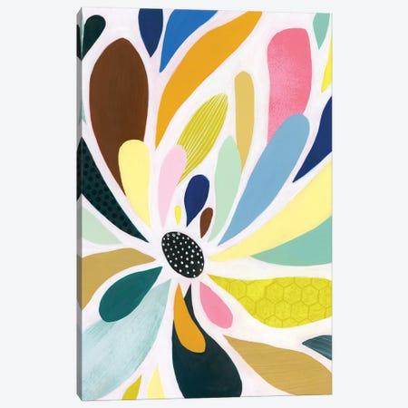 Abstract Petals II Canvas Print #POP2437} by Grace Popp Canvas Art Print