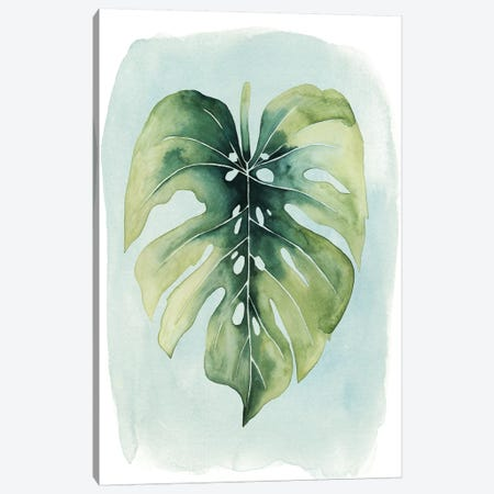 Paradise Palm Leaves I Canvas Print #POP243} by Grace Popp Canvas Wall Art