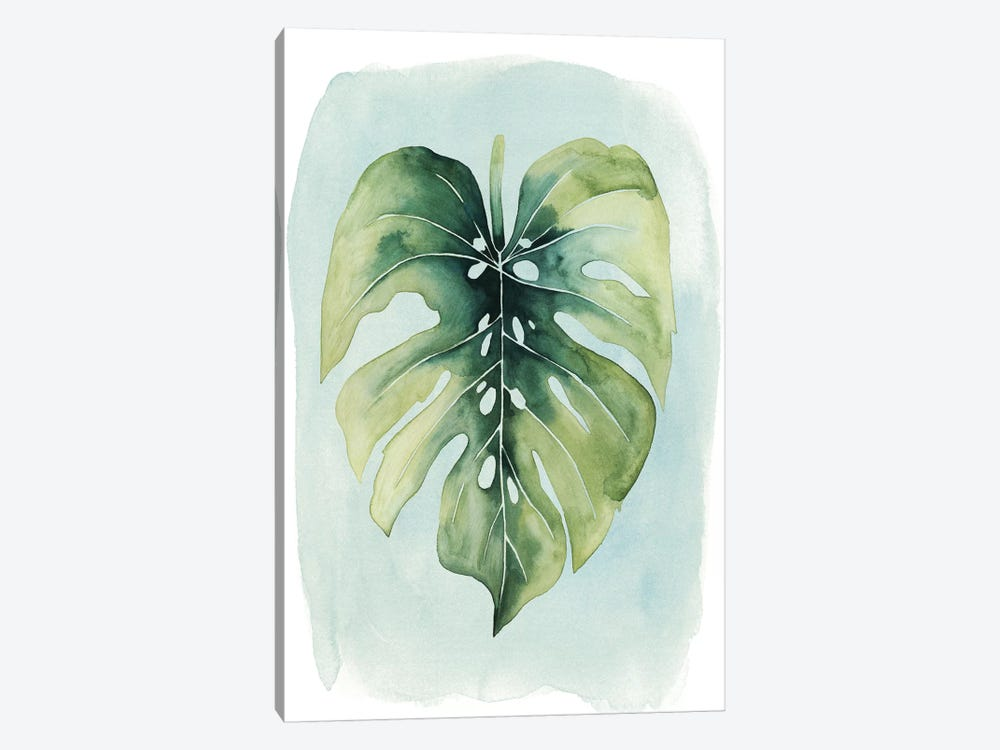 Paradise Palm Leaves I by Grace Popp 1-piece Canvas Wall Art