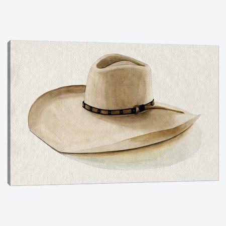 Cowboy Hat I Canvas Print #POP2443} by Grace Popp Canvas Art Print