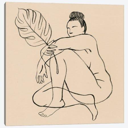 Femme Figure IV Canvas Print #POP2449} by Grace Popp Canvas Print