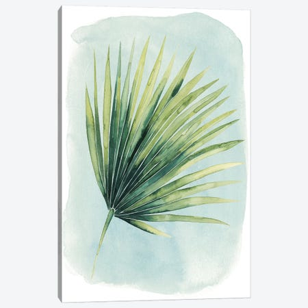 Paradise Palm Leaves II Canvas Print #POP244} by Grace Popp Art Print