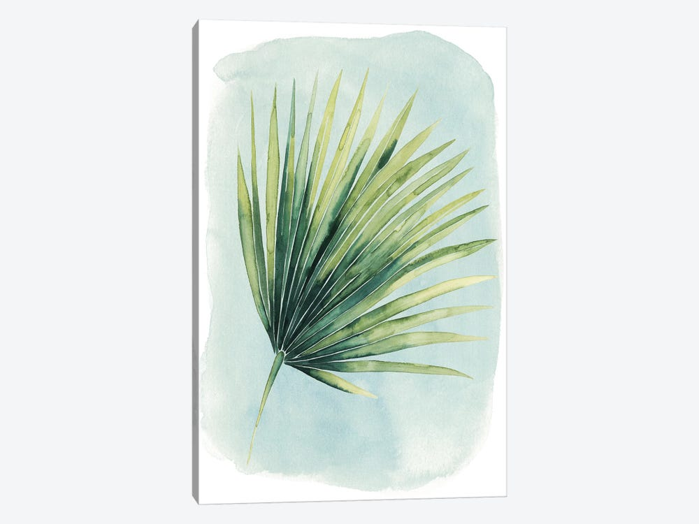 Paradise Palm Leaves II by Grace Popp 1-piece Canvas Print