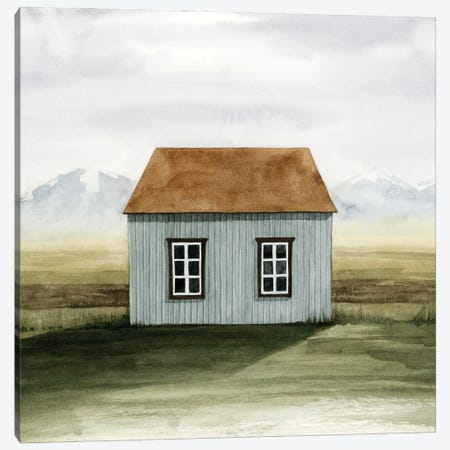 Nordic Cottage I Canvas Print #POP2473} by Grace Popp Canvas Art