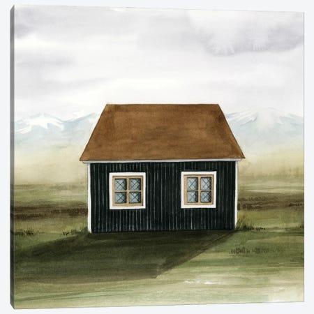 Nordic Cottage II Canvas Print #POP2474} by Grace Popp Canvas Print