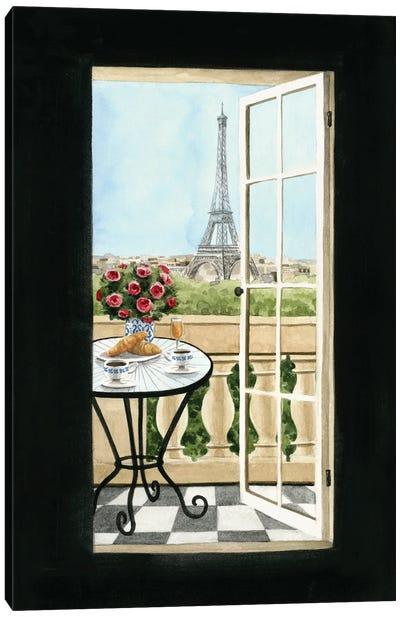 Terrace in Paris II Canvas Art Print