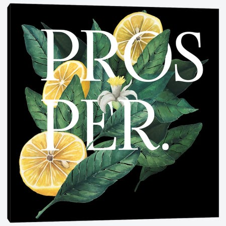 Prosper & Thrive I Canvas Print #POP253} by Grace Popp Art Print