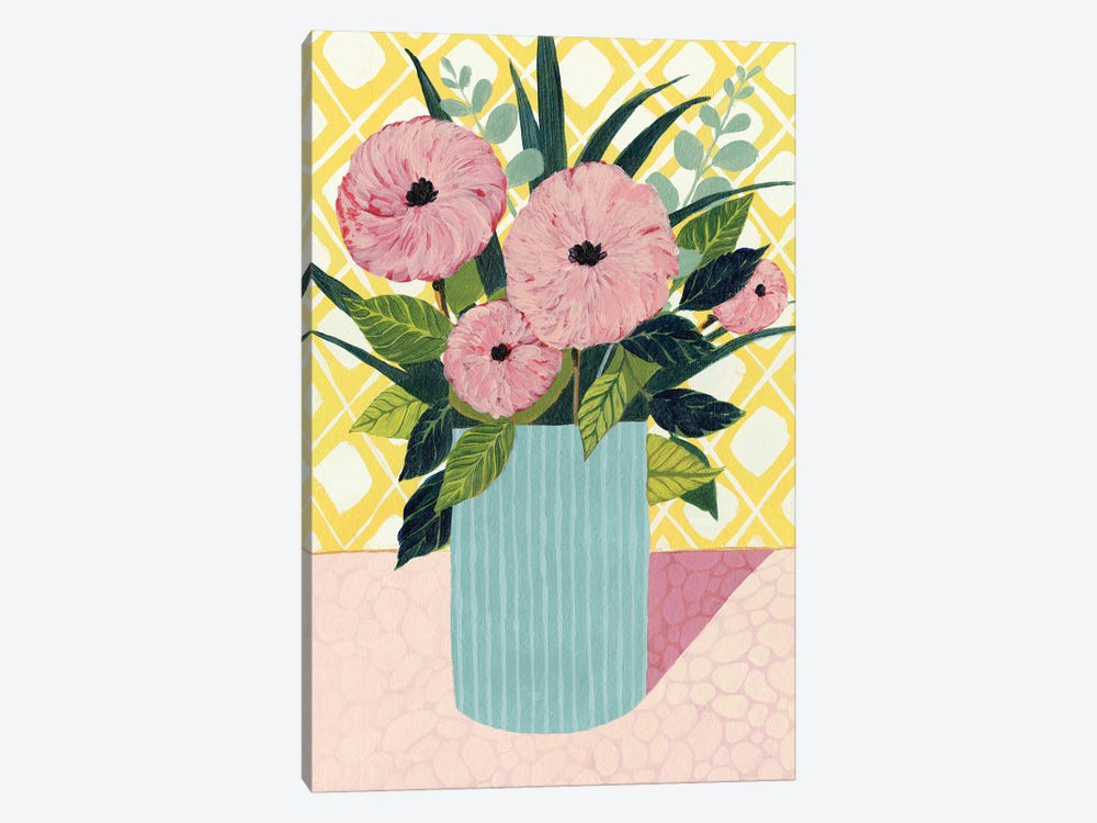 Retro Bouquet I by Grace Popp 1-piece Art Print