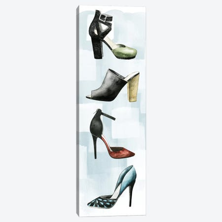 Shoe Lover II Canvas Print #POP260} by Grace Popp Canvas Wall Art