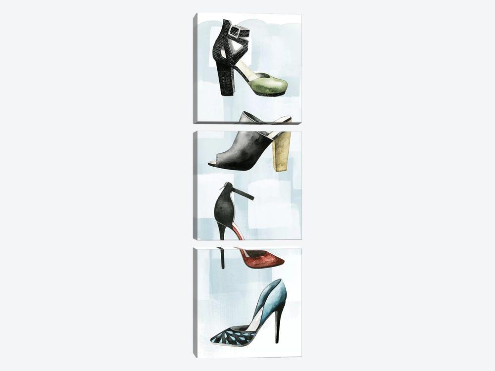 Shoe Lover II by Grace Popp 3-piece Canvas Print