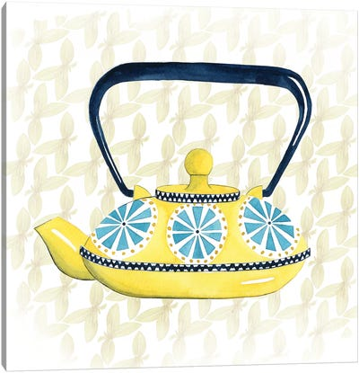 Sweet Teapot II Canvas Print #POP264