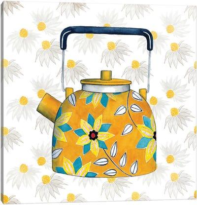 Sweet Teapot III Canvas Print #POP265
