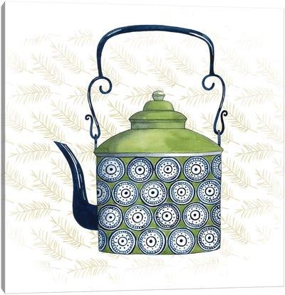 Sweet Teapot IV Canvas Print #POP266