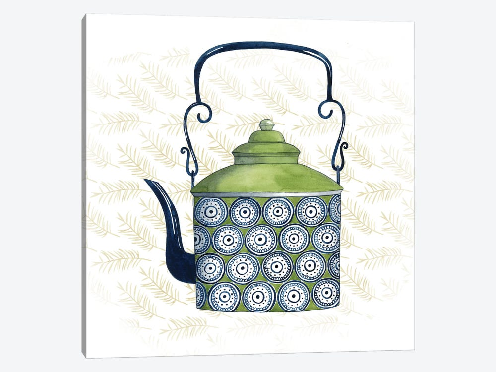 Sweet Teapot IV 1-piece Canvas Print