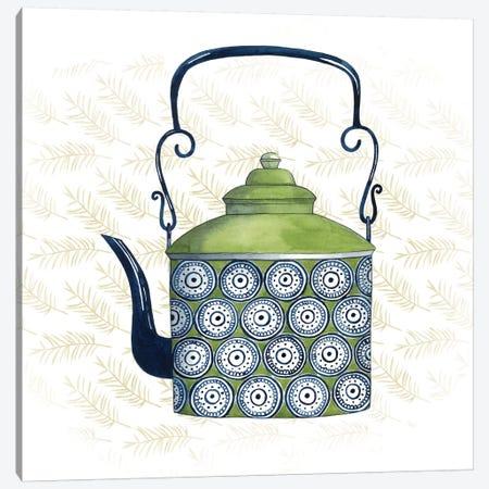 Sweet Teapot IV Canvas Print #POP266} by Grace Popp Art Print