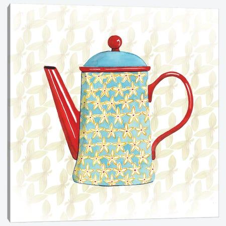 Sweet Teapot VI Canvas Print #POP268} by Grace Popp Canvas Wall Art