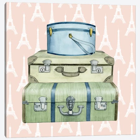 Travel Dream I Canvas Print #POP269} by Grace Popp Canvas Artwork