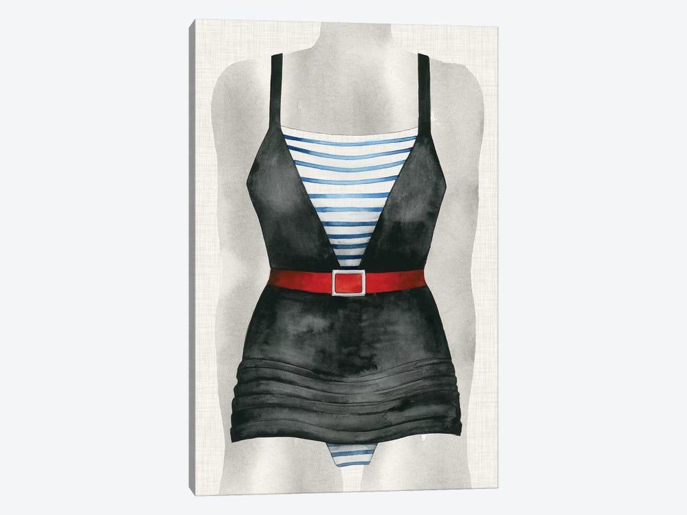 Vintage Bathing Suit IV by Grace Popp 1-piece Canvas Art Print