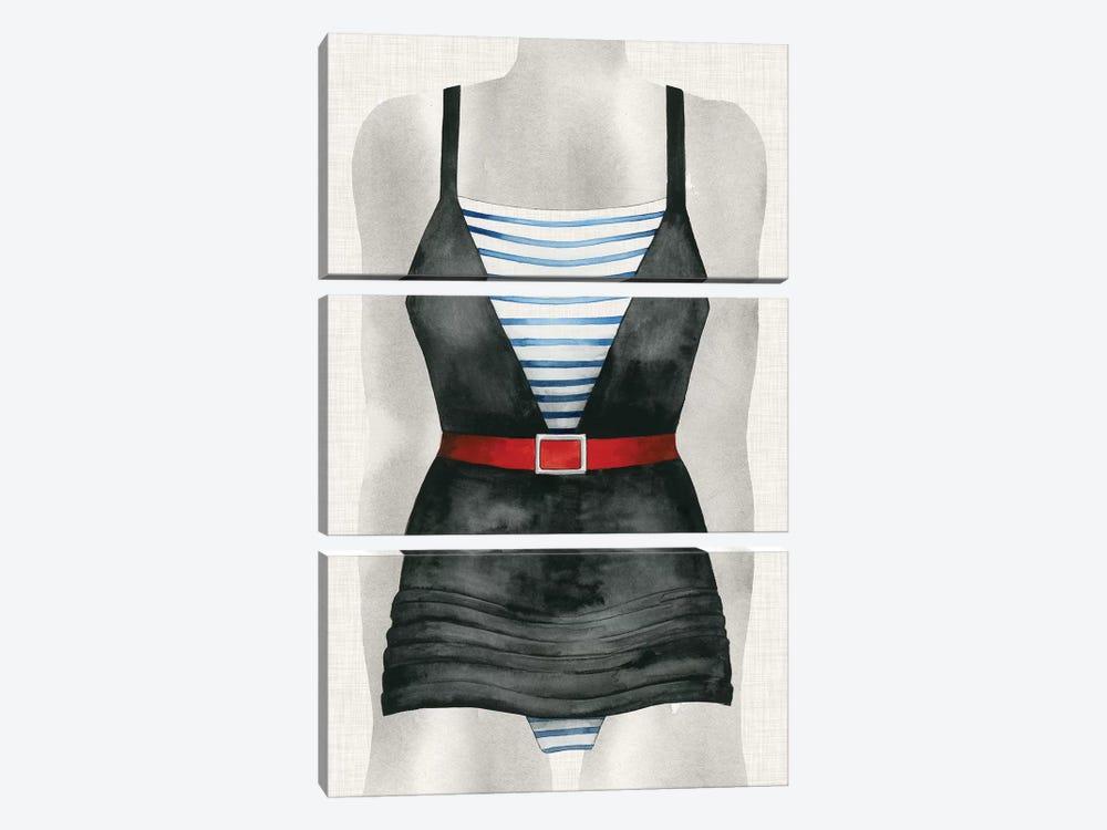 Vintage Bathing Suit IV by Grace Popp 3-piece Art Print