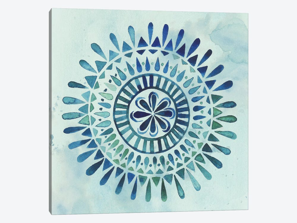 Watercolor Mandala II by Grace Popp 1-piece Art Print