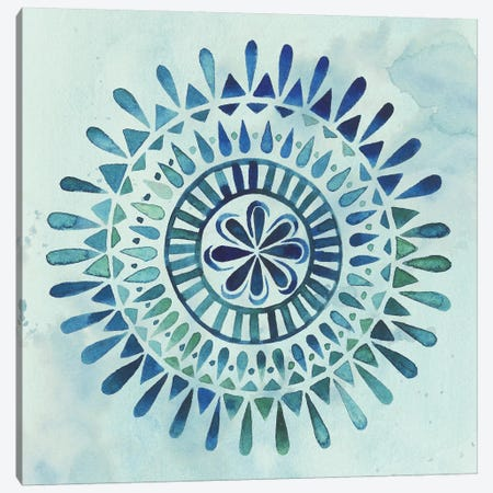 Watercolor Mandala II Canvas Print #POP291} by Grace Popp Canvas Print