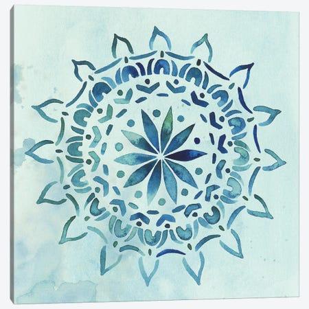 Watercolor Mandala III Canvas Print #POP292} by Grace Popp Canvas Art Print