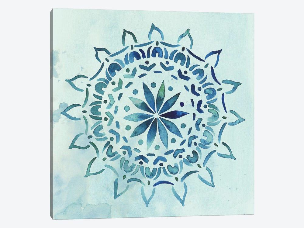 Watercolor Mandala III by Grace Popp 1-piece Canvas Artwork
