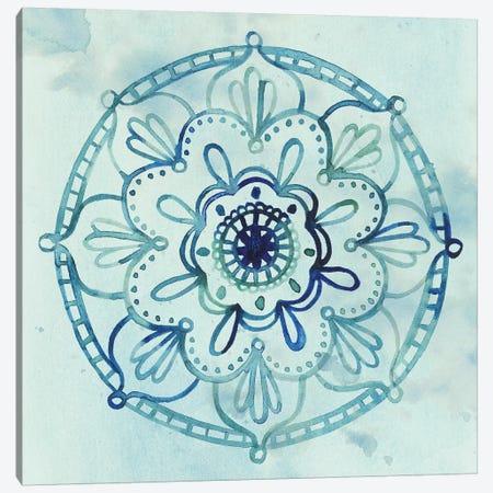 Watercolor Mandala IV Canvas Print #POP293} by Grace Popp Canvas Print