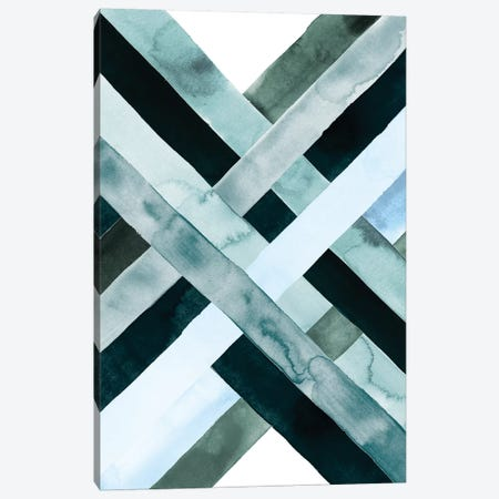 Watercolor Weave I Canvas Print #POP294} by Grace Popp Canvas Wall Art
