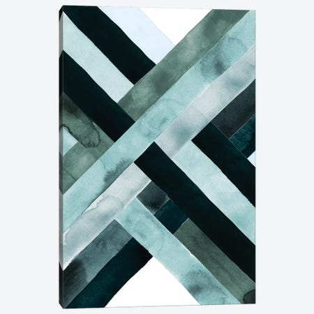 Watercolor Weave II Canvas Print #POP295} by Grace Popp Canvas Artwork
