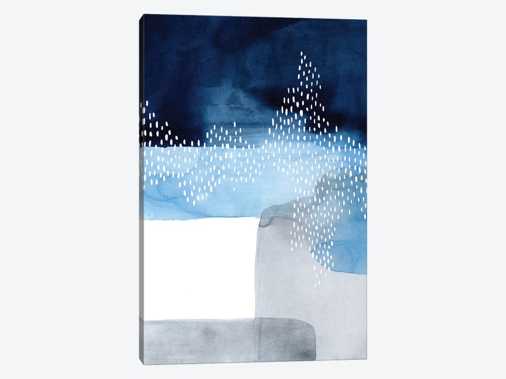Waterfall Abstract I by Grace Popp 1-piece Canvas Artwork