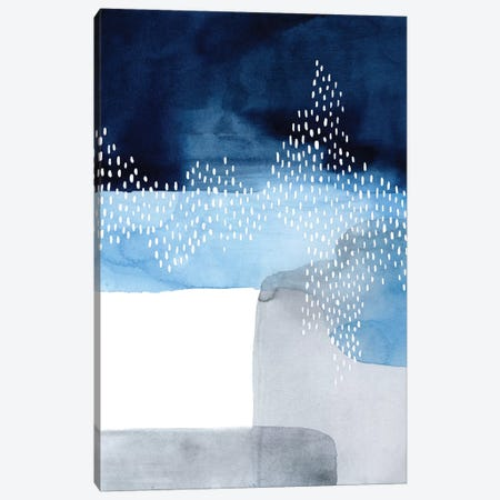 Waterfall Abstract I Canvas Print #POP296} by Grace Popp Canvas Art
