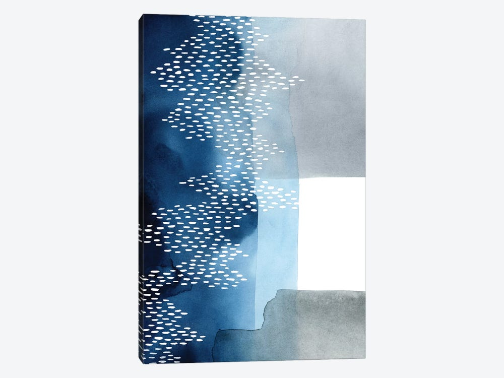 Waterfall Abstract II by Grace Popp 1-piece Canvas Art Print