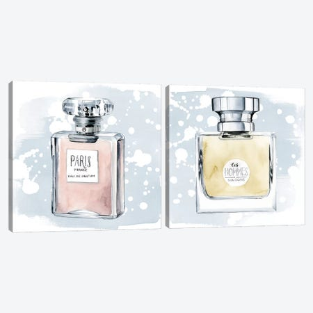 Parfum Diptych Canvas Print Set #POP2HSET001} by Grace Popp Canvas Artwork