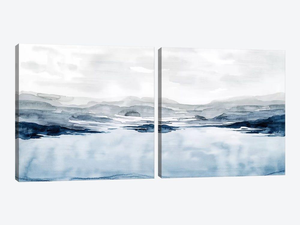 Faded Horizon Diptych by Grace Popp 2-piece Canvas Artwork