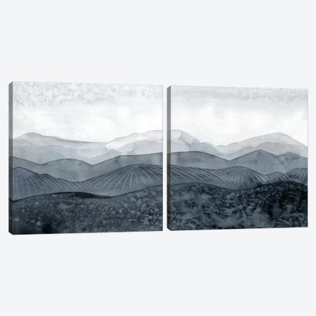Blustering Valley Diptych Canvas Print Set #POP2HSET007} by Grace Popp Canvas Art Print