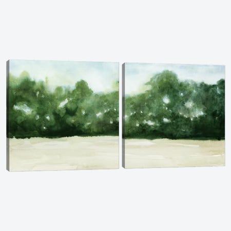 Loose Landscape Diptych Canvas Print Set #POP2HSET009} by Grace Popp Canvas Wall Art