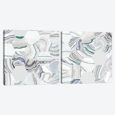 Tranquil Tide Diptych Canvas Print Set #POP2HSET015} by Grace Popp Canvas Artwork