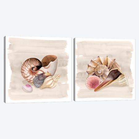 Ocean Keepsake Diptych Canvas Print Set #POP2HSET027} by Grace Popp Canvas Art Print