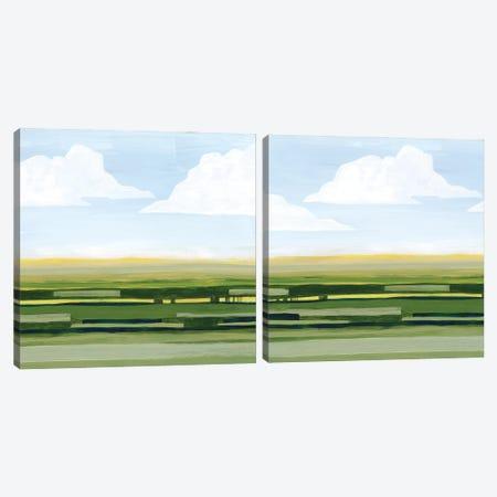 Pastoral Glow Diptych Canvas Print Set #POP2HSET032} by Grace Popp Canvas Print
