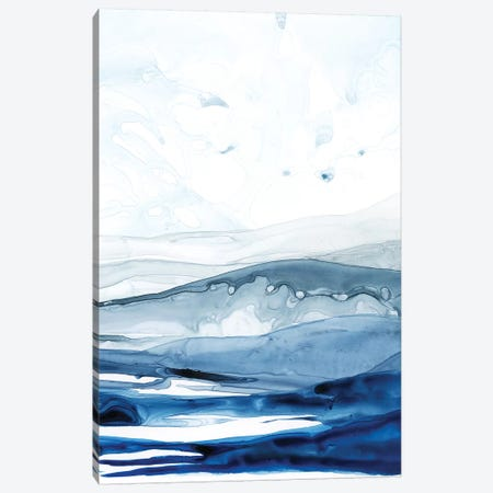 Azure Arctic II Canvas Print #POP303} by Grace Popp Art Print