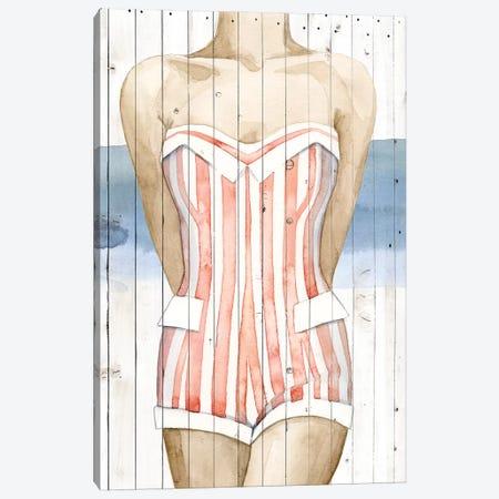 Bygone Bathers II 3-Piece Canvas #POP309} by Grace Popp Art Print