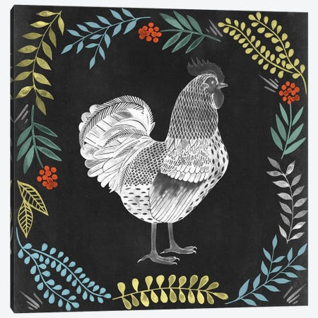 Chalkboard Farmhouse II Canvas Print #POP313} by Grace Popp Canvas Wall Art