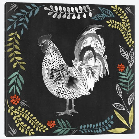 Chalkboard Farmhouse IV Canvas Print #POP315} by Grace Popp Canvas Print