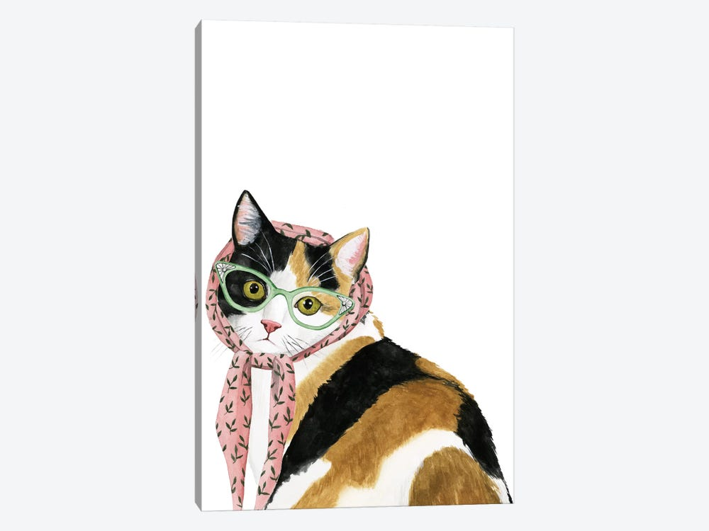 Cool Cat I by Grace Popp 1-piece Canvas Print